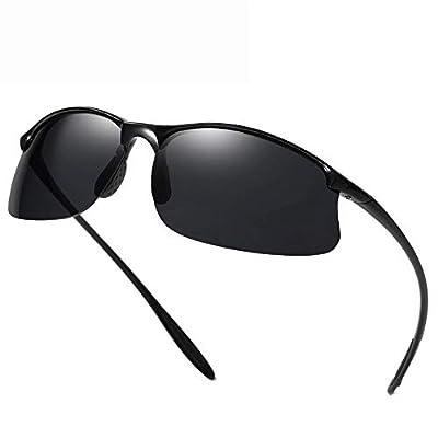 FeliciaJuan Polarized Sports Outdoors Driving Metal Frame Lightweight Fishing Sunglasses 100% UV