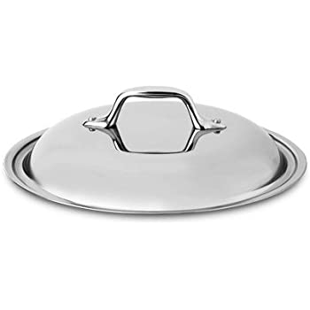 Amazon Com All Clad 18 10 Stainless Steel Chef S Pan