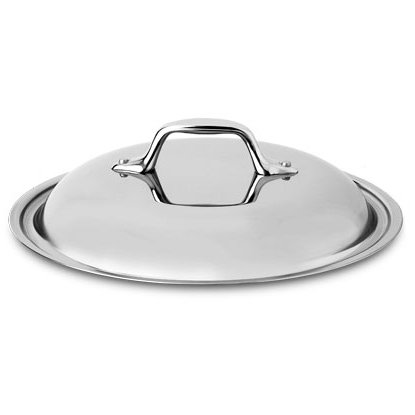 All-Clad 18/10 Stainless Steel Sauteuse Domed Lid, 10.5 Inch
