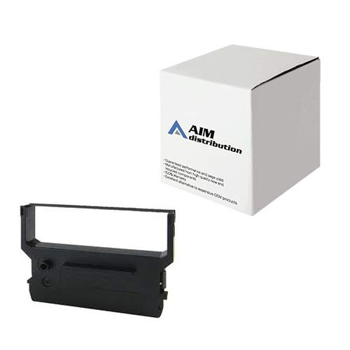 AIM Compatible Replacement for R0170 Black P.O.S. Printer Ribbons (6/PK) - Compatible to Citizen IR-61B - Generic