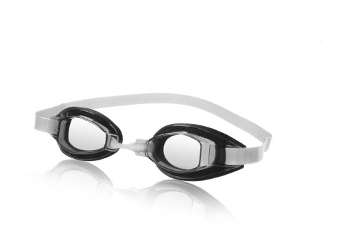 Speedo Sprint Swim Goggle, Clear, One Size