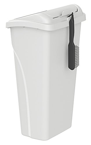 United Solutions WB0257 All-in-One 10 Gallon  Wastebasket wi
