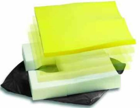 Alimed Seat Cushion EZ-Dish® 18 X 18 X 3 Inch Foam
