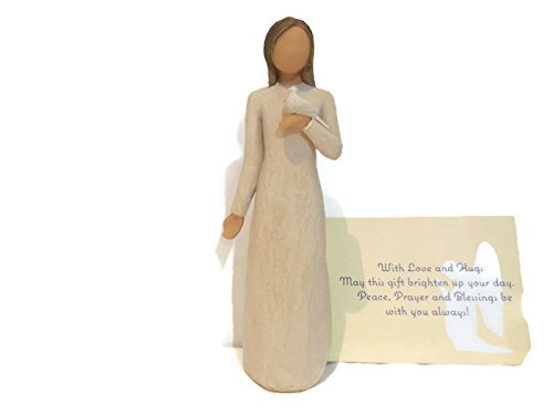 Willow Tree With Sympathy Figurine. An Ideal Sympathy-Condolence-Funeral Gifts For Loss Of Mother/Father/Loved One