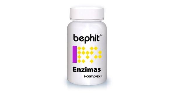 ENZIMAS + MALVAVISCO + HINOJO BEPHIT - 60 cápsulas 475 mg ...