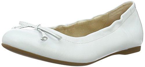 Gabor Shoes Fashion, Bailarinas para Mujer, Talla Única, Talla Única Blanco (weiss 21)