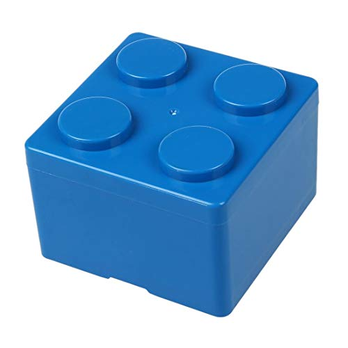 1pc Building Block Shapes Plastic Saving Space Storage Box Superimposed Desktop Handy Office House - Storage Box