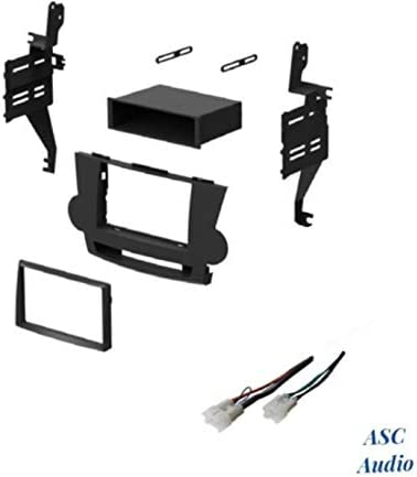 Amazon.com: ASC Audio Car Stereo Dash Install Kit and Wire Harness for  Installing an Aftermarket Radio for 2008 2009 2010 2011 Toyota Highlander -  No JBL/Factory Premium Amp: Car ElectronicsAmazon.com