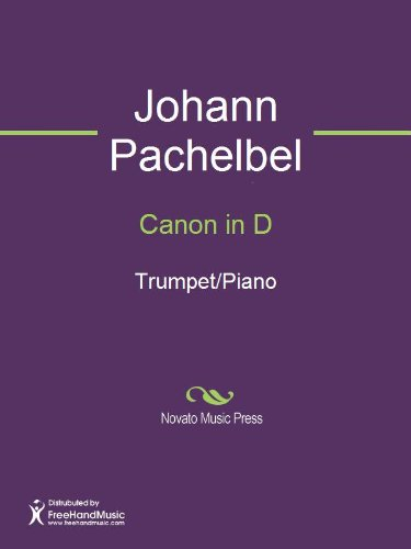 Canon in D Sheet Music (Trumpet/Piano)