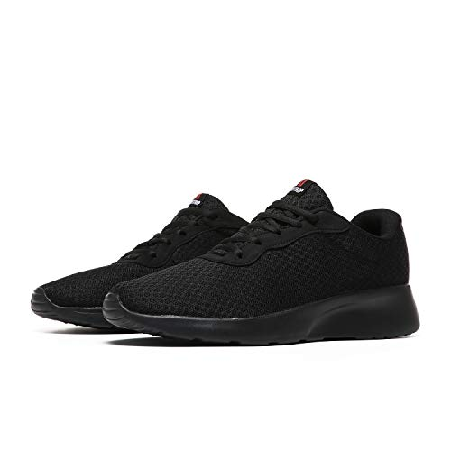 MAIITRIP Men's Running Shoes Gym Sport Athletic Sneakers,Black,Size 11