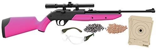 (Crosman 760PKT Pumpmaster .177 Caliber BB and Pellet Air Rifle Kit (Pink) (Standard Packaging))