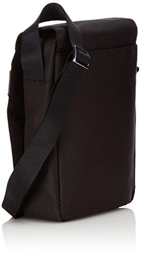 "Samsonite Hip-Class Tracolla 9.7"" + Flap Borsa Messenger, Nylon, Nero, 4.5 ml, 26 cm"