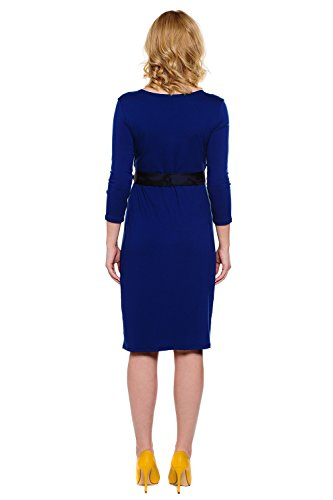 Erin Stillkleid amp; Umstands Blue Tummy My Kleid Kleid Denim Mutterschafts wn0a6gqp