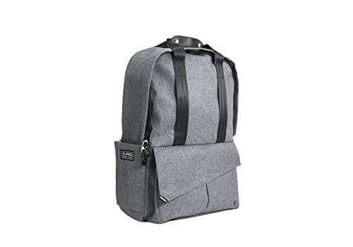 5f3f1720b13b PKG Rosseau Backpack Grey Wool 25 Liters of Volume