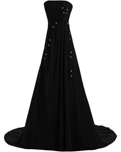 Missdressy - Vestido - trapecio - para mujer negro 60