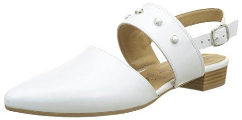Tamaris Sandales White 29406 Blanc Femme Bride arrière qqfwPr