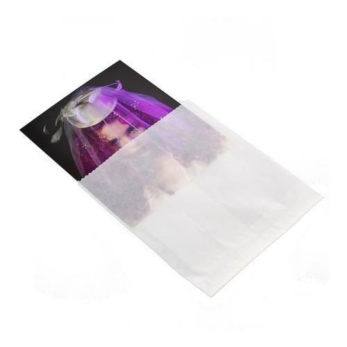 Adorama 8x10'' Glassine Envelopes, Holds a Single 8x10 Frame, Pack of 100