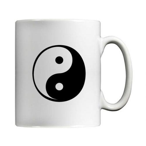 Yin Yang símbolo taza por MugBug: Amazon.es: Hogar