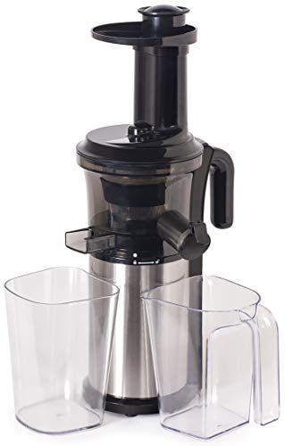Shine Kitchen Co. Vertical Slow Juicer, SJV-107-A Cold Press, Masticating Juice Extractor, Silver and Black by Shine Kitchen Co. by Tribest (Image #8)