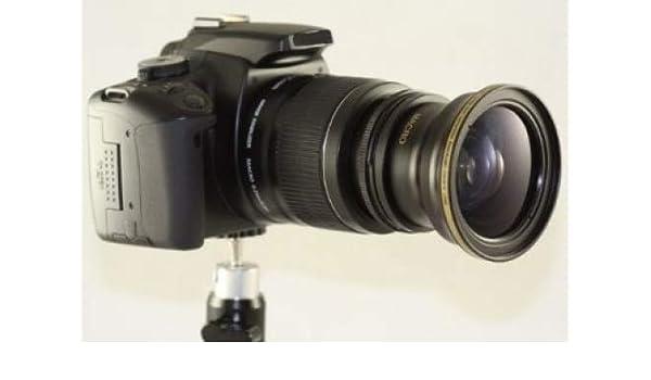 Profesional Gran Angular Ojo de Pez 0.30 x Kit de lente para Nikon ...