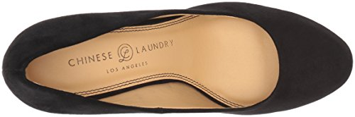 Chinese Laundry Frauen Wow Geschlossener Zeh Klassische Pumps Black Suede