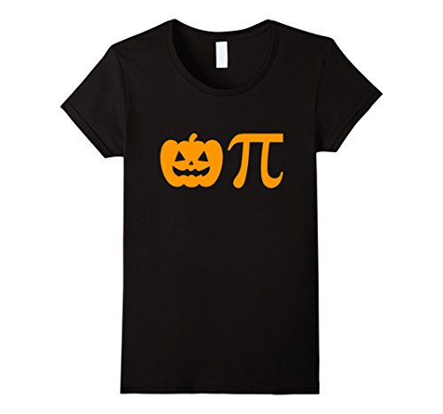 Womens Pumpkin Pi Pie Halloween T-shirt Medium (Pumpkin Pie Halloween)