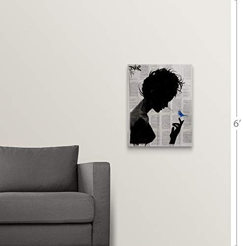 Amazon.com: Gallery-Wrapped Canvas Entitled Poetica by Loui ...