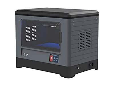 Monoprice Dual Extruder 3D Printer - Black with Heated Build Plate (230 x 150 x 160 mm) Fully Enclosed, Built in Camera, Auto Resume, Touch Screen, Easy Wi-Fi