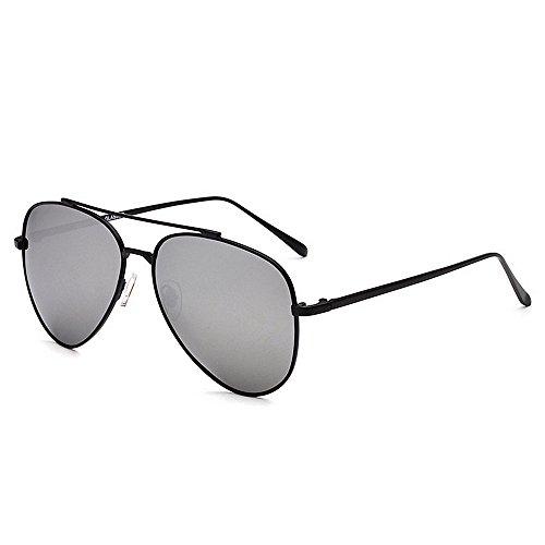de Yxsd Hombre para Plata Aviator polarizadas Green Marco Gafas 400 de Color SunglassesMAN La Protección Sol UV zCwqqY