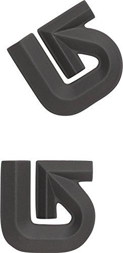 Burton Aluminum Logo Mats, Black (Mat Logo Aluminum Burton)