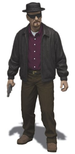 "Mezco Toyz Breaking Bad Heisenberg Walter 6"" Action Figure"