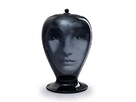 Bitossi Fornasetti Vase For 10486 Al Buio Nero Limited Edition