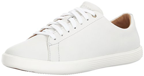 Cole Haan Women's Grand Crosscourt II Sneaker, Bright Leather/Optic White, 8.5 B US
