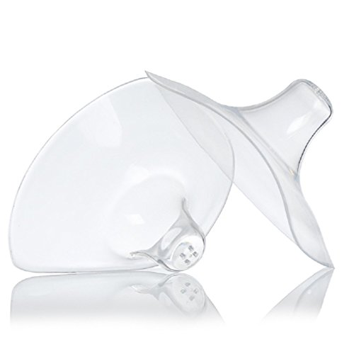 Silicone Contact Nipple Shield with Carrying Case for Breastfeeding Mothers