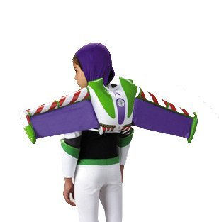 Woody Halloween Costume (Buzz Lightyear Jet Pack,One Size Child)