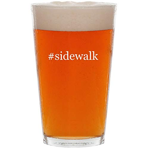 Price comparison product image sidewalk - 16oz Hashtag Pint Beer Glass