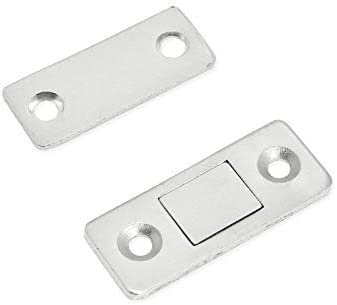 ホームデコレーション ドアをスライディング超薄型ステルスキャビネットキッチンのドア強力な磁気マグネット 家具の足
