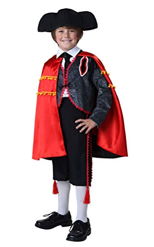 COSKING Spanish Madator Costume for Boys, Kids Deluxe Halloween Cosplay Outfit (Tag Size-M) for $<!--$64.99-->