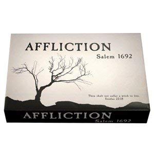Witch Hunt Game For Halloween (Affliction Salem 1692 - the Board Game, by DPH Games)