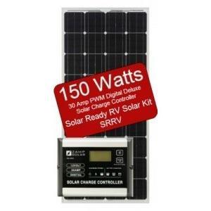 150W 30AMP SOLAR READY RV