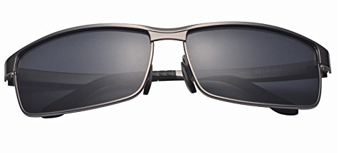 Adults Premium Silver and Grey Aluminium and Stainless Steel Composite Alloy Metal Sunglasses TAC Polorized lenses - Sunglasses Review Tac