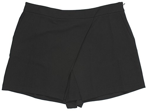 Nice Lauren Ralph Lauren Women's Angled Pleat Shorts 6 Black