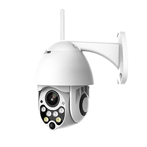 SODIAL 1080P Ptz IP Camera Outdoor Speed Dome Wireless WiFi Security Camera Pan Tilt 5X Zoom Ir Network CCTV Surveillance 720P Us Plug ()