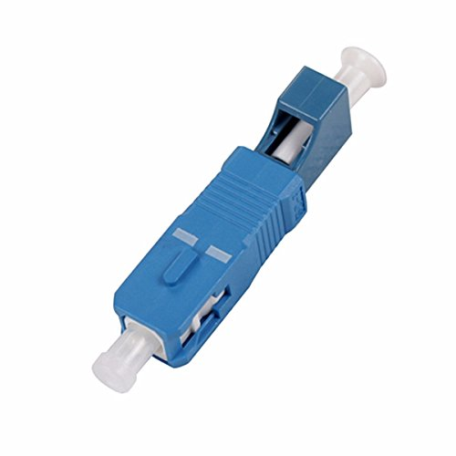 EB-LINK 2.5 to 1.25mm SC Male to LC Female Adapter Single Mode SM Fiber Optic Connector