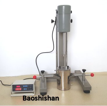 FS-400D Standard high speed dispersion machine digital display swift homogenizer paint ink stirring and dispersing machine by Baoshishan