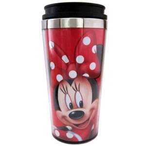 Minnie Mouse Red Polka Dots Travel Mug by Disney