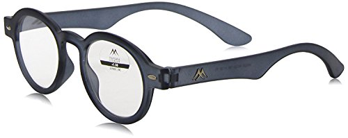 Montana MR92B Strength Plus 1.5 Grey Reading Glasses