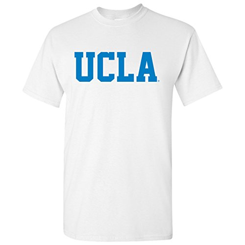 AS01 - UCLA Bruins Basic Block T-Shirt - Large - White