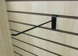 10'' Black Slat Wall Hooks (Box of 96)
