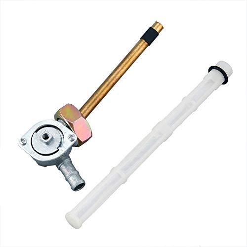 JICHUI Interruptor de la bomba V/álvula de grifo de la gasolina de la motocicleta de gas Llave de purga para Honda CBR600 88-07 VT600